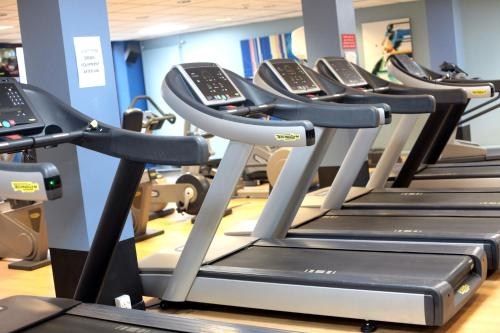 The fitness center and/or fitness facilities at MILL Hotel & Spa