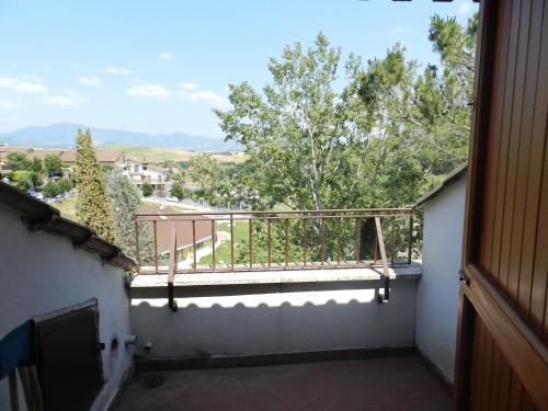 A balcony or terrace at B&B Le Tre Civette