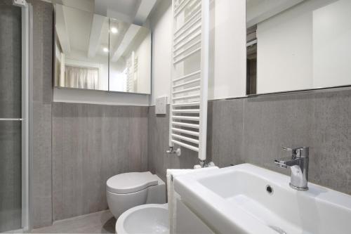 Um banheiro em Ca' Bibi