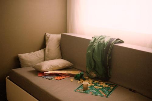 Cama o camas de una habitación en Pol & Grace Hotel