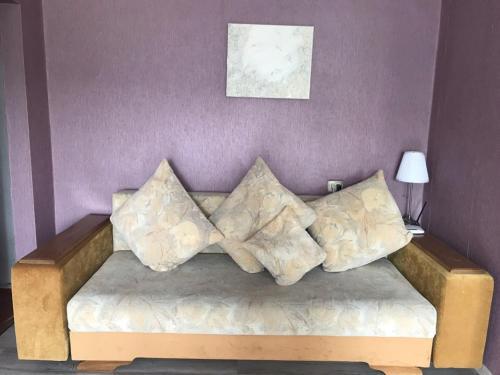 Кровать или кровати в номере Leninskii, 29
