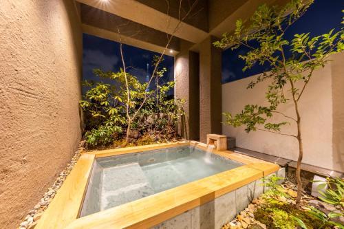 cyashitsu ryokan asakusa游泳池或附近泳池