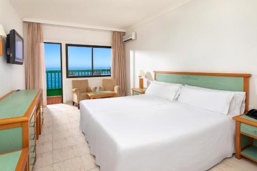 Cama o camas de una habitación en Sol Puerto de la Cruz Tenerife