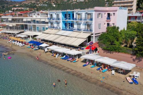A bird's-eye view of Hotel Solon
