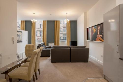 A seating area at The Castle Collection - 25 Castle Street