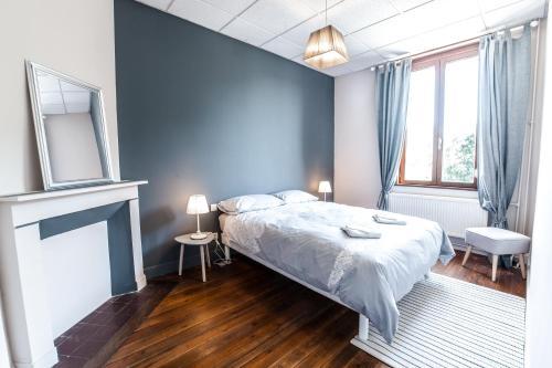 Un ou plusieurs lits dans un hébergement de l'établissement LA VILLA JEAN-BART