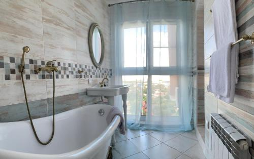 A bathroom at Na Verandakh