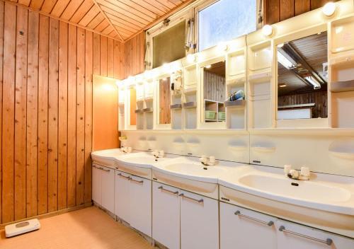 A bathroom at 斑尾観光ホテル