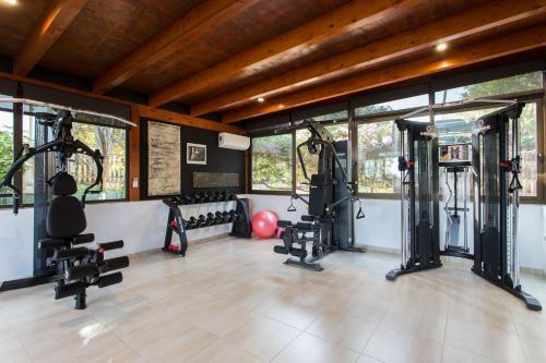 Palestra o centro fitness di Hotel & Spa Entre Pinos