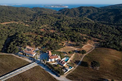 A bird's-eye view of Hotel Casa Palmela