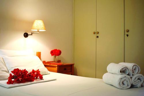 Krevet ili kreveti u jedinici u okviru objekta Studio Candia