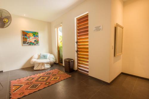Uma área de estar em Villa Sol Paraiso