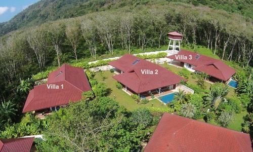 Blick auf Lai Thai Villa aus der Vogelperspektive