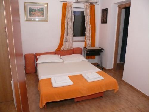 Krevet ili kreveti u jedinici u objektu Apartments Panonija