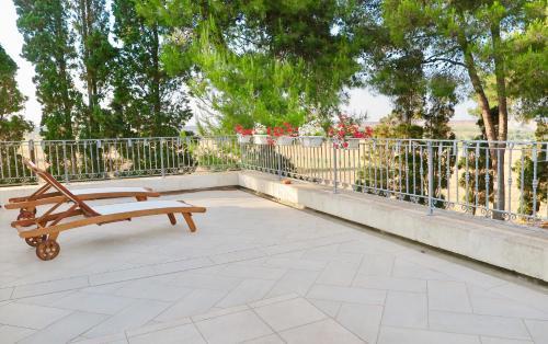 Balcone o terrazza di La Dimora di Ulisse