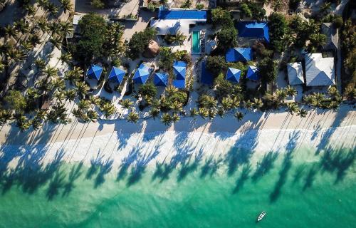 A bird's-eye view of Indigo Beach Zanzibar