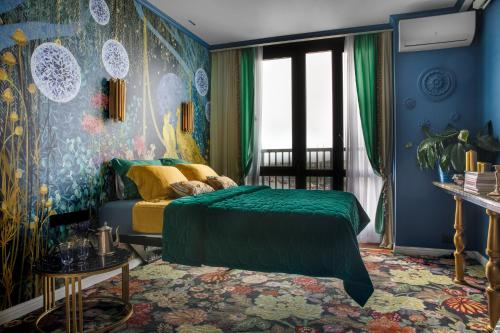 A bed or beds in a room at Dao dé Rooms Boutique Aparts