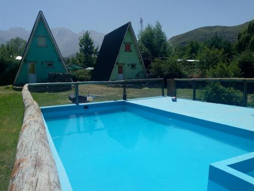 The swimming pool at or near Tierra de Luna