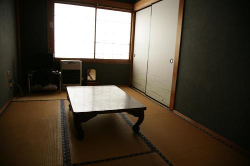 A seating area at Magome Chaya