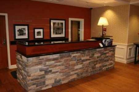 The lobby or reception area at Hampton Inn & Suites Lanett/West Point