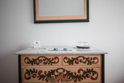 A bathroom at Muskatli Panzio Sic