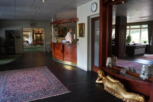 Lobbyen eller receptionen på Nilles Kro