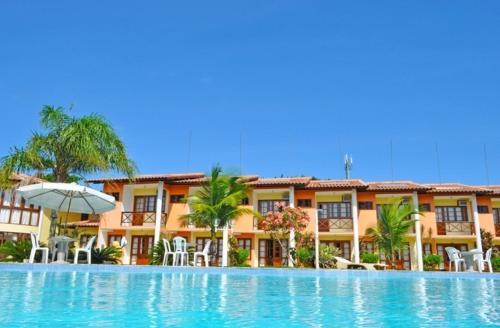 The swimming pool at or near Resid. Moradas de Israel - Tonziro