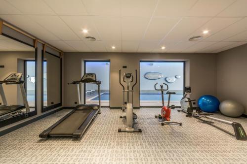 Centrum fitness w obiekcie Antares Hotel