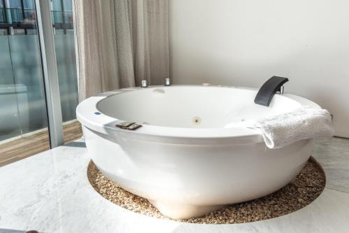 Un baño de Be Playa