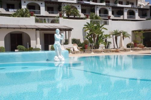 The swimming pool at or near Hotel Tritone Lipari
