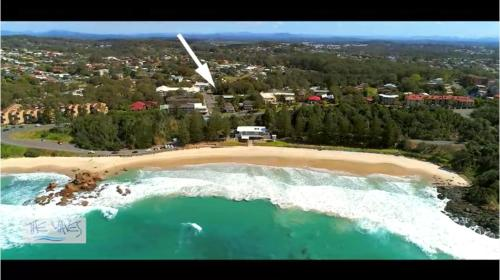 A bird's-eye view of The Waves Port Macquarie