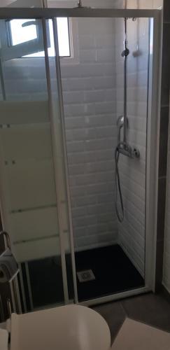 A bathroom at Hostal Alce