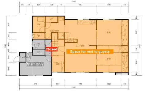 オホーツクハウスきよさとの見取り図または間取り図