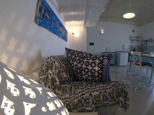 Area soggiorno di Casa di Ninni Bilo