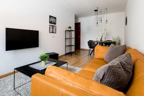 Posezení v ubytování Apartamento La Nuit con Parking gratis en centro histórico