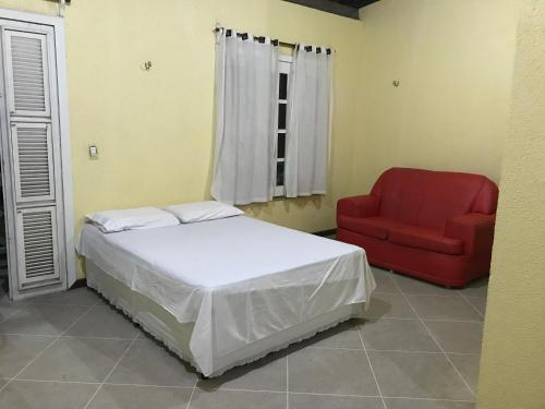 A bed or beds in a room at Apartamento Rocha