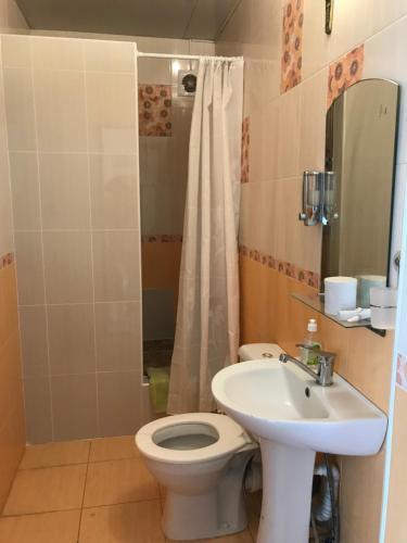 A bathroom at Guest House Irina