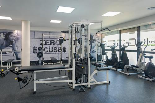 Gimnasio o instalaciones de fitness de Catalonia Punta Cana - All Inclusive