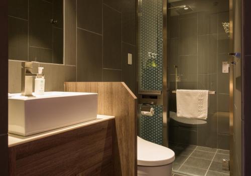 A bathroom at Aya Niseko