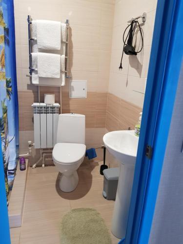 Ванная комната в Guest House Tatyana