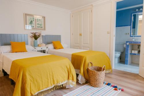 Uma cama ou camas num quarto em Cordoba COol Vailima