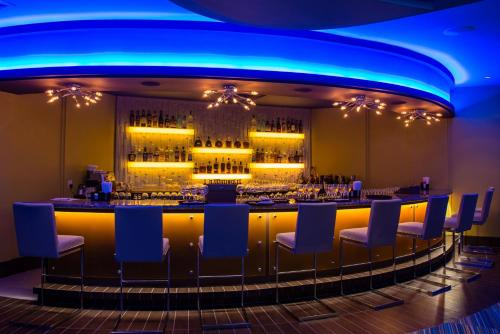 The lounge or bar area at St. Kitts Marriott Resort & The Royal Beach Casino