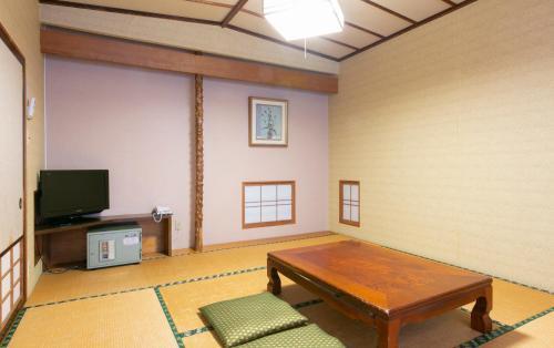 A television and/or entertainment center at Hotel Fujiya