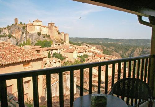 A balcony or terrace at Hotel Castillo