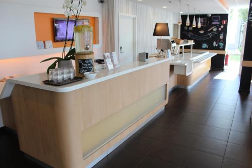 Cuisine ou kitchenette dans l'établissement ibis budget Antwerpen Port