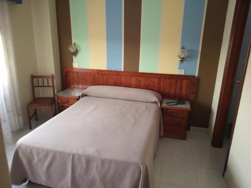 Cama o camas de una habitación en Hotel Casa Marín