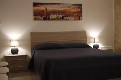Cama o camas de una habitación en Ute Hotel