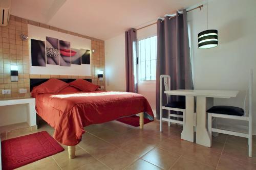 A bunk bed or bunk beds in a room at Casa Arletty Santa Marta