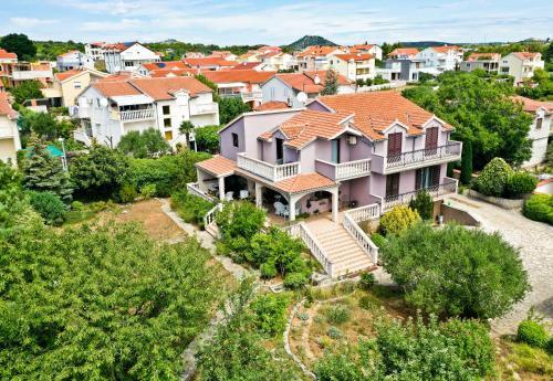 Letecký snímek ubytování Apartment Iris