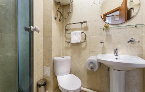 Ванная комната в Отель Маяк